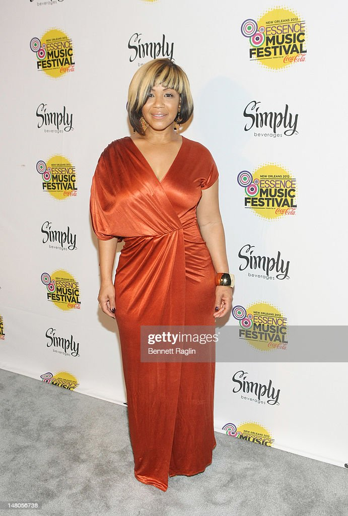Recording artist Erica Campbell attends the 2012 Essence Music Festival at Ernest N. Morial Convention Center on July 8, 2012 in New Orleans, Louisiana.