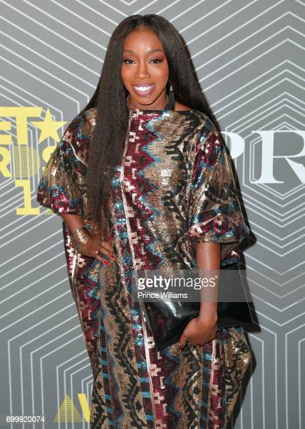 Recording artist Estelle attend Debra Lee PreBET Awards Dinner at The London West Hollywood on June 21 2017 in West Hollywood California