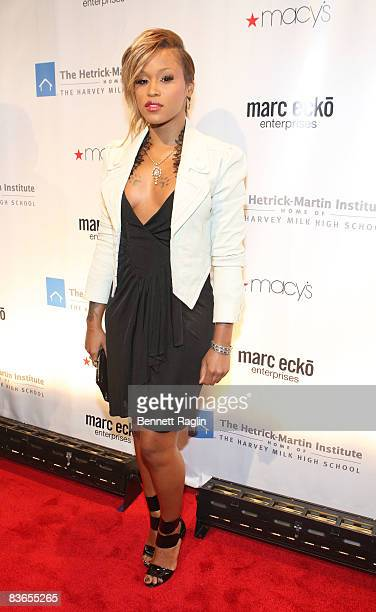 Recording artist Eve attends the 2008 Emery Awards at Cipriani on November 11 2008 in New York City