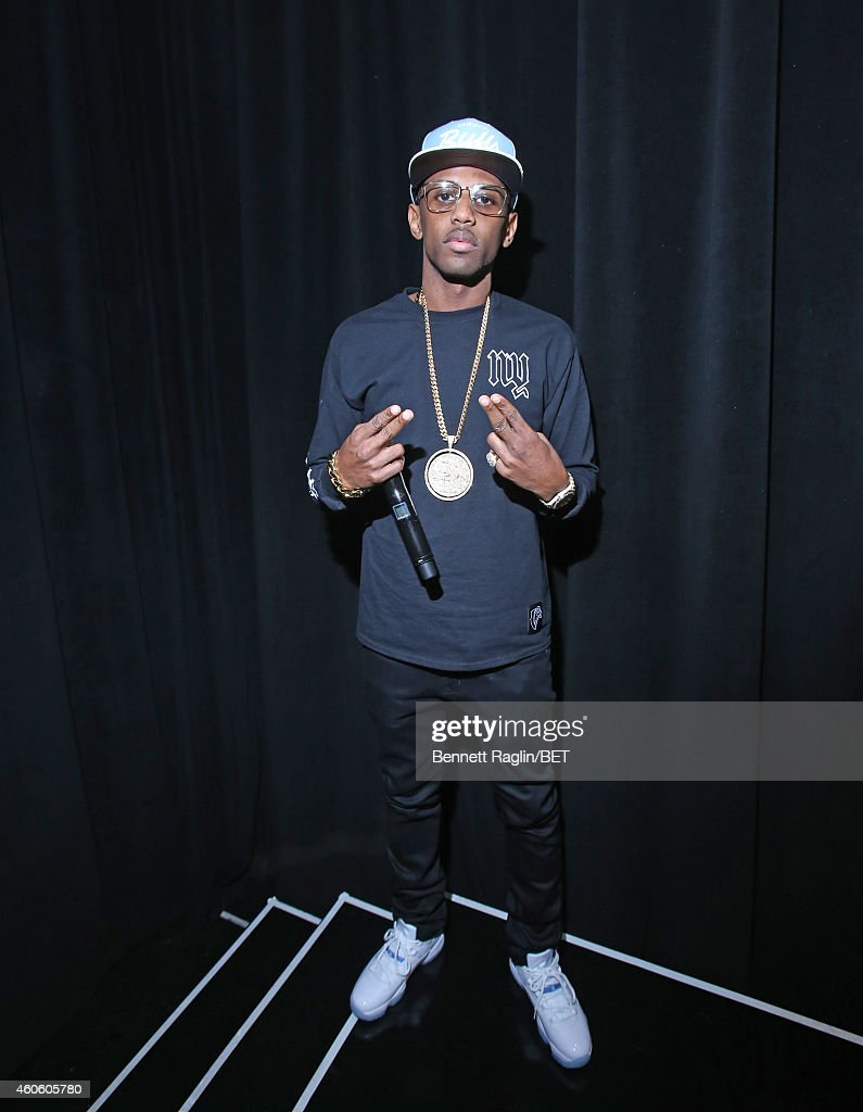 Recording artist Fabolous attends 106 & Park at BET studio on December 17, 2014 in New York City.