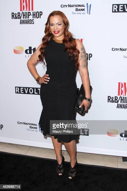 Recording artist Faith Evans attends the 2014 BMI RB/HipHop Awards at the Pantages Theatre on August 22 2014 in Hollywood California