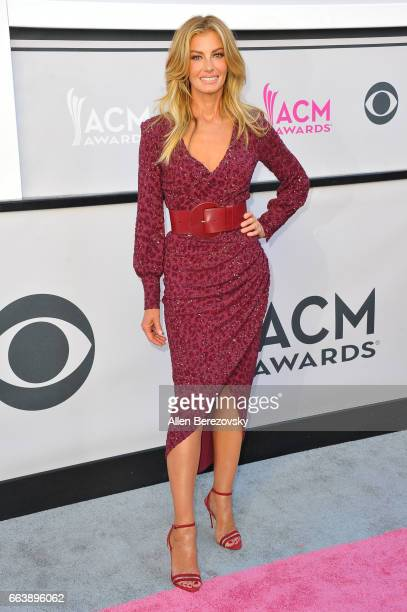 Recording artist Faith Hill arrives at the 52nd Academy Of Country Music Awards on April 2 2017 in Las Vegas Nevada