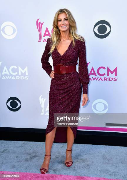 Recording artist Faith Hill attends the 52nd Academy Of Country Music Awards at Toshiba Plaza on April 2 2017 in Las Vegas Nevada