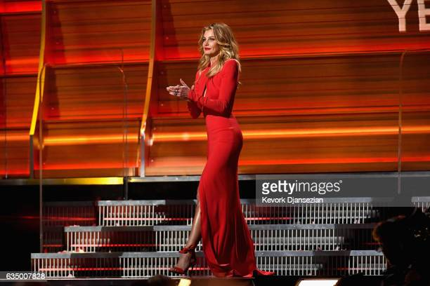 Recording artist Faith Hill onstage during The 59th GRAMMY Awards at STAPLES Center on February 12 2017 in Los Angeles California