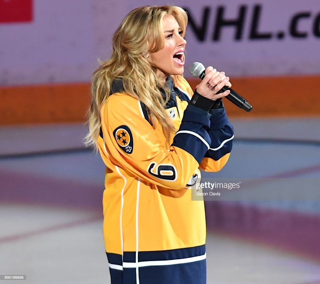 Celebrities Attend The 2017 NHL Stanley Cup Final - Game Six : News Photo