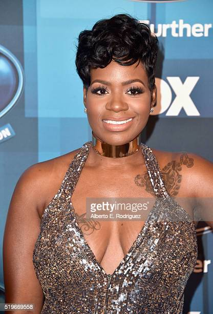 Recording artist Fantasia attends FOX's American Idol Finale For The Farewell Season at Dolby Theatre on April 7 2016 in Hollywood California