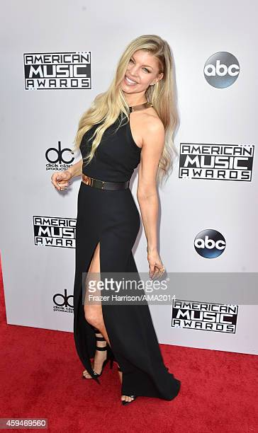 Recording artist Fergie attends the 2014 American Music Awards at Nokia Theatre L.A. Live on November 23, 2014 in Los Angeles, California.
