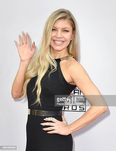 Recording artist Fergie attends the 2014 American Music Awards at Nokia Theatre LA Live on November 23 2014 in Los Angeles California