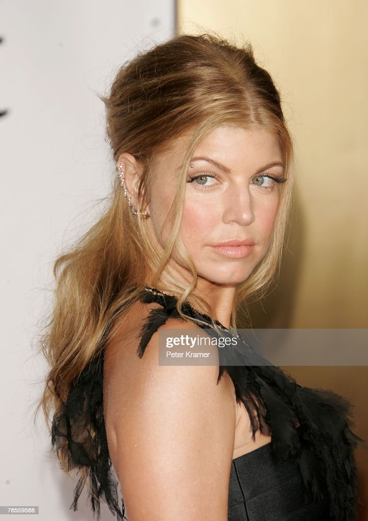 Recording artist Fergie attends the Conde Nast Media Group's Fourth Annual Fashion Rocks Concert at Radio City Music Hall September 6, 2007 in New York City.