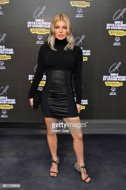 Recording Artist Fergie attends the CR Fashion Book Celebrating launch of CR Girls 2018 with Technogym at Spring Place on December 12 2017 in New...