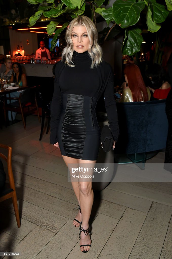 Recording Artist Fergie attends the CR Fashion Book Celebrating launch of CR Girls 2018 with Technogym at Spring Place on December 12, 2017 in New York City.