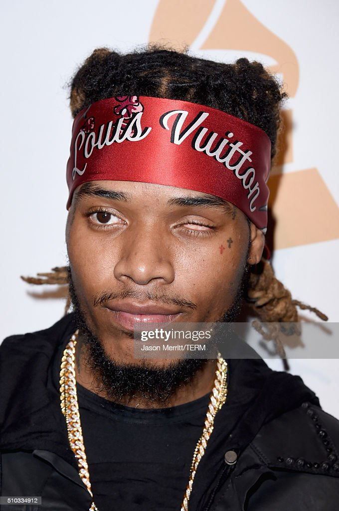 Recording artist Fetty Wap attends the 2016 Pre-GRAMMY Gala and Salute to Industry Icons honoring Irving Azoff at The Beverly Hilton Hotel on February 14, 2016 in Beverly Hills, California.