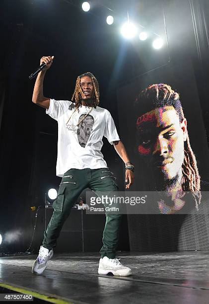 Recording artist Fetty Wap performs in concert at Lakewood Amphitheater on September 5 2015 in Atlanta Georgia