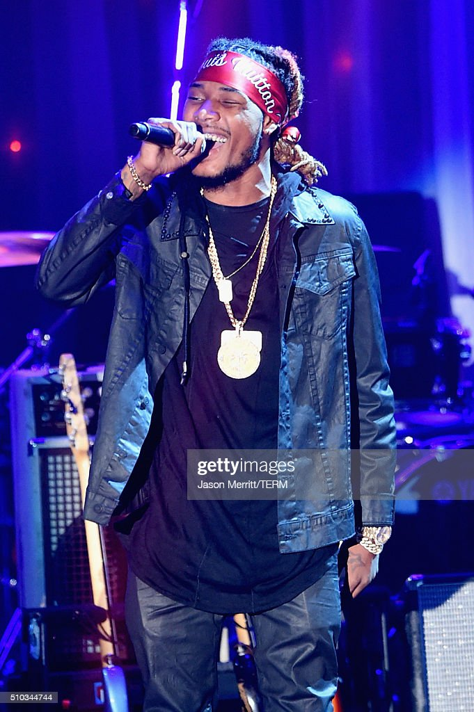 Recording artist Fetty Wap performs onstage during the 2016 Pre-GRAMMY Gala and Salute to Industry Icons honoring Irving Azoff at The Beverly Hilton Hotel on February 14, 2016 in Beverly Hills, California.