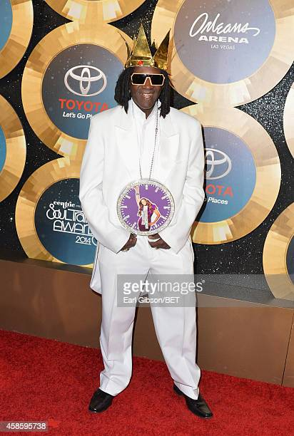 Recording artist Flavor Flav attends the 2014 Soul Train Music Awards at the Orleans Arena on November 7 2014 in Las Vegas Nevada