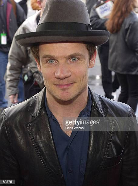 Recording artist Flea of the musical group Red Hot Chili Peppers arrives at the 15th Annual Soul Train Awards February 28 2001 at the Shrine...