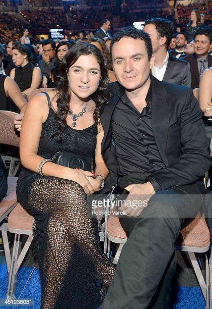 Recording artist Fonseca and Juliana Posada attend The 14th Annual Latin GRAMMY Awards at the Mandalay Bay Events Center on November 21 2013 in Las...