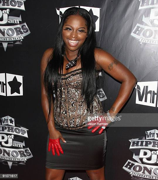Recording artist Foxy Brown attends the 2009 VH1 Hip Hop Honors at the Brooklyn Academy of Music on September 23 2009 in New York City