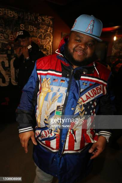 Recording artist Fred The Godson backstage at S.O.B.'s on February 25, 2020 in New York City.