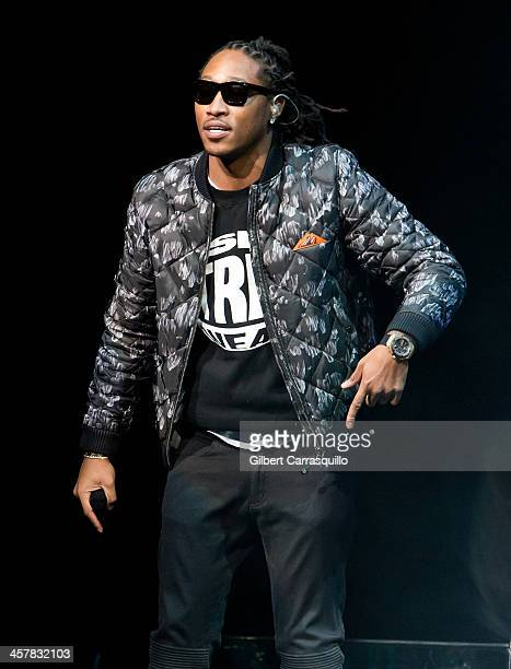 Recording Artist Future performs during Drake's 'Would You Like A Tour 2013 concert at Wells Fargo Center on December 18 2013 in Philadelphia...