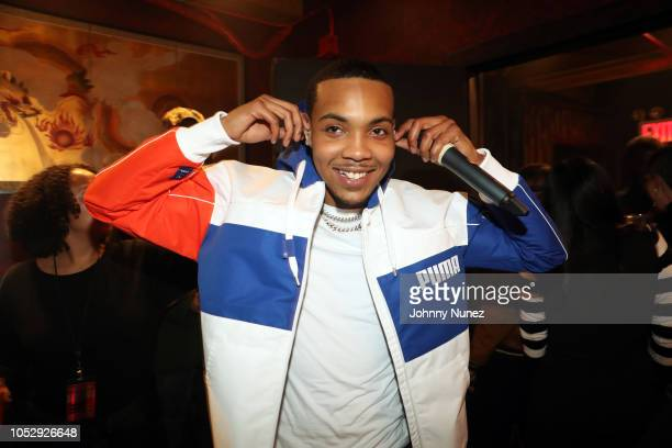 Recording artist G Herbo backstage at Gramercy Theatre on October 23 2018 in New York City
