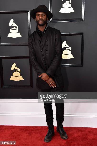 Recording artist Gary Clark Jr attends The 59th GRAMMY Awards at STAPLES Center on February 12 2017 in Los Angeles California