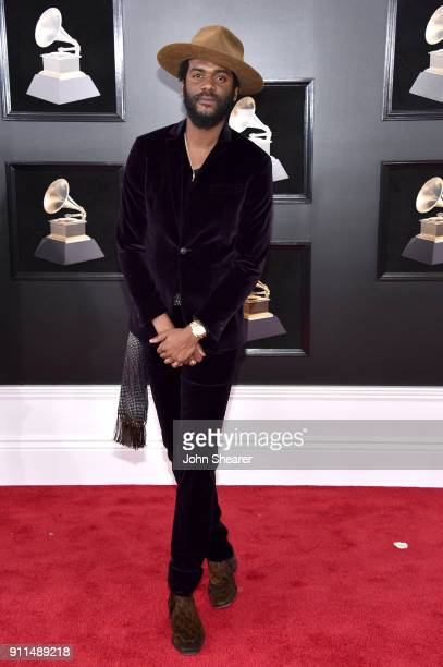 Recording artist Gary Clark Jr attends the 60th Annual GRAMMY Awards at Madison Square Garden on January 28 2018 in New York City