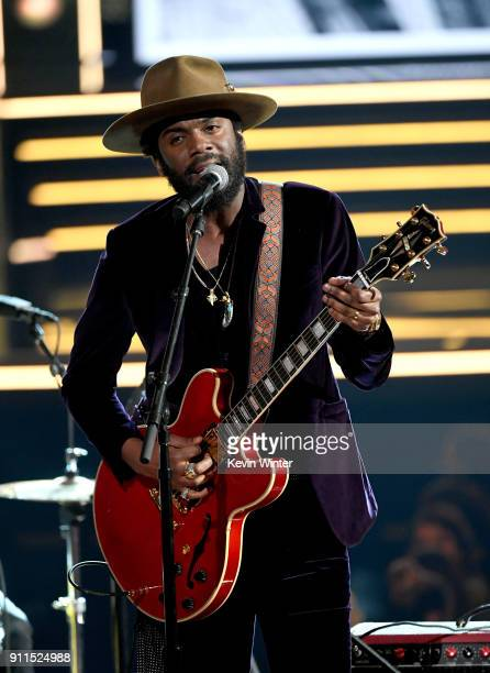 Recording artist Gary Clark Jr performs onstage during the 60th Annual GRAMMY Awards at Madison Square Garden on January 28 2018 in New York City