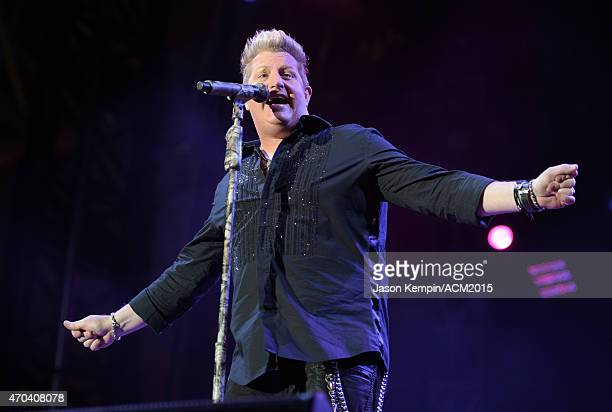 Recording artist Gary LeVox of music group Rascal Flatts performs onstage during the 50th Academy of Country Music Awards All Star Jam at ATT Stadium...