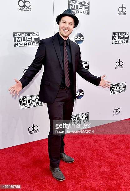 Recording artist Gavin DeGraw attends the 2014 American Music Awards at Nokia Theatre LA Live on November 23 2014 in Los Angeles California