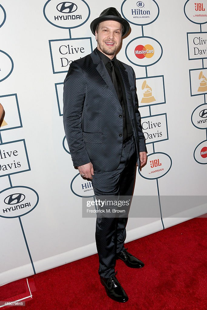 Recording artist Gavin DeGraw attends the 56th annual GRAMMY Awards Pre-GRAMMY Gala and Salute to Industry Icons honoring Lucian Grainge at The Beverly Hilton on January 25, 2014 in Beverly Hills, California.