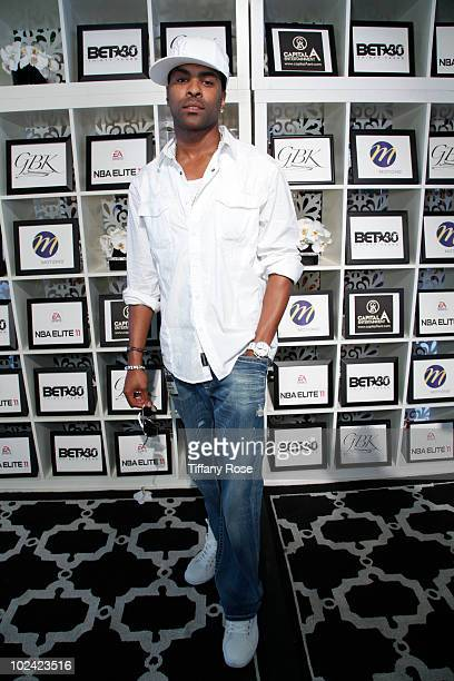 Recording artist Genuwine attends the GBK BET Awards Official Backstage Talent Lounge Day 1 The Shrine Auditorium on June 25 2010 in Los Angeles...