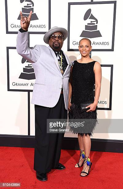 Recording artist George Clinton attends The 58th GRAMMY Awards at Staples Center on February 15 2016 in Los Angeles California