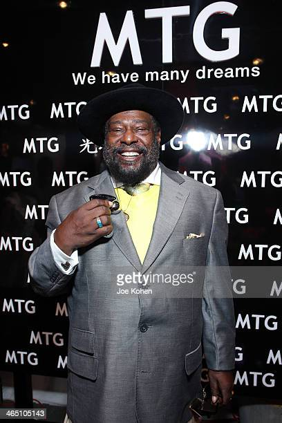Recording artist George Clinton attends the GRAMMY Gift Lounge during the 56th Grammy Awards at Staples Center on January 25 2014 in Los Angeles...