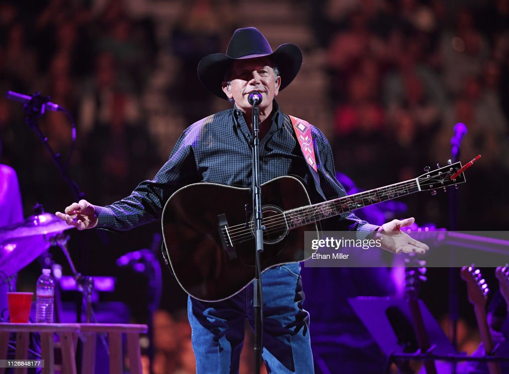 Strait To Vegas - George Strait With Ashley McBryde In Concert : News Photo