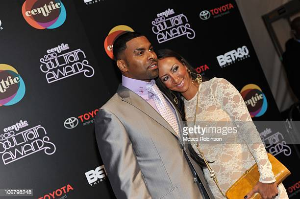 Recording Artist Ginuwine and recording artist Sole' attend the 2010 Soul Train Awards at the Cobb Energy Center on November 10 2010 in Atlanta...
