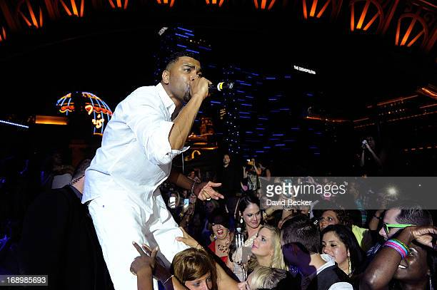 Recording artist Ginuwine performs at the Chateau Nightclub Gardens at the Paris Las Vegas on May 17 2013 in Las Vegas Nevada