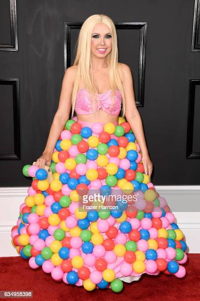 Recording artist Girl Crush attends The 59th GRAMMY Awards at STAPLES Center on February 12 2017 in Los Angeles California