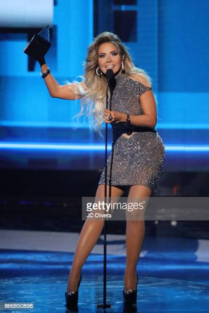 Recording artist Gloria Trevi onstage during the 2017 Latin American Music Awards at Dolby Theatre on October 26 2017 in Hollywood California