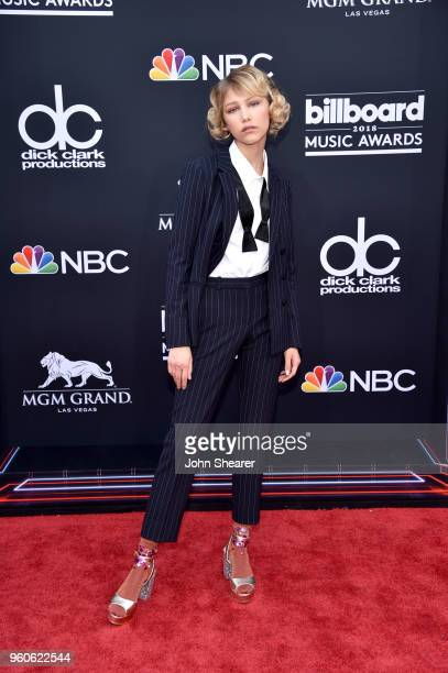 Recording artist Grace VanderWaal attends the 2018 Billboard Music Awards at MGM Grand Garden Arena on May 20 2018 in Las Vegas Nevada