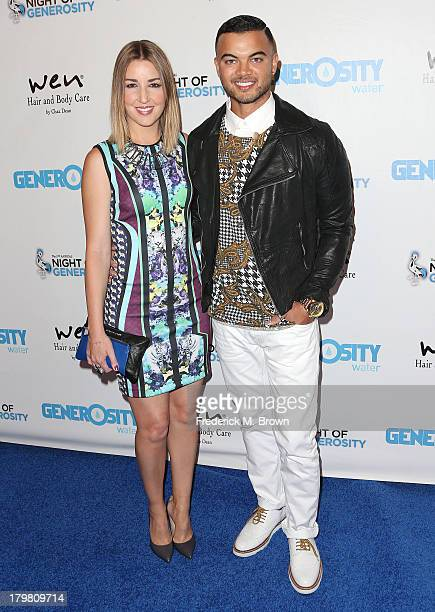 Recording artist Guy Sebastian Jules Egan attend Generosity Water's 5th Annual Night of Generosity Benefit at the Beverly Hills Hotel on September 6...