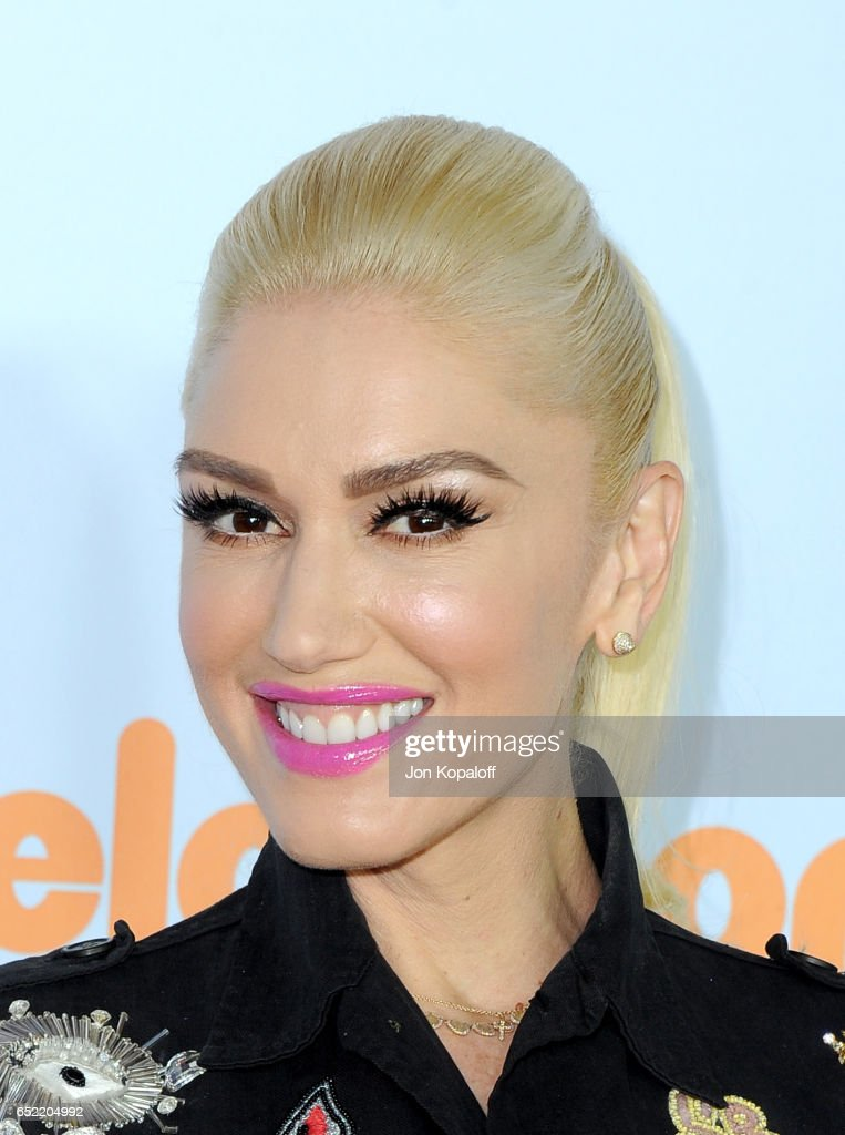 Recording artist Gwen Stefani at Nickelodeon's 2017 Kids' Choice Awards at USC Galen Center on March 11, 2017 in Los Angeles, California.