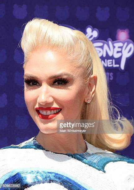 Recording artist Gwen Stefani attends the 2016 Radio Disney Music Awards at Microsoft Theater on April 30 2016 in Los Angeles California