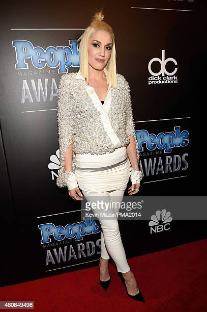 Recording artist Gwen Stefani attends the PEOPLE Magazine Awards at The Beverly Hilton Hotel on December 18 2014 in Beverly Hills California