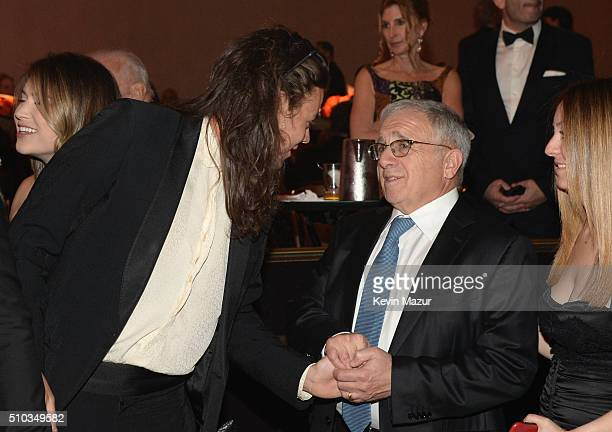 Recording artist Harry Styles and honoree Irving Azoff attend the 2016 PreGRAMMY Gala and Salute to Industry Icons honoring Irving Azoff at The...