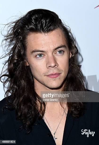 Recording artist Harry Styles of One Direction attends 1027 KIIS FM's Jingle Ball 2015 Presented by Capital One at STAPLES CENTER on December 4 2015...