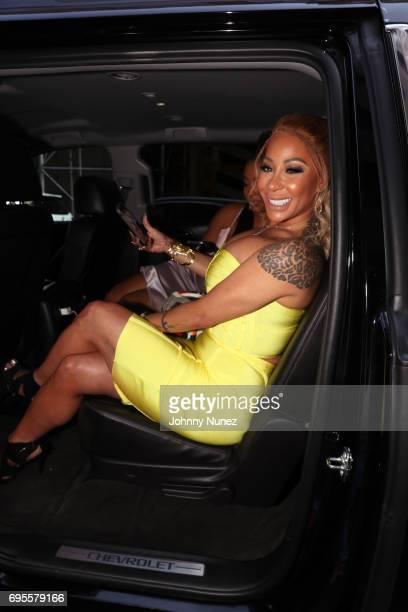 Recording artist HazelE is seen on June 12 2017 in New York City