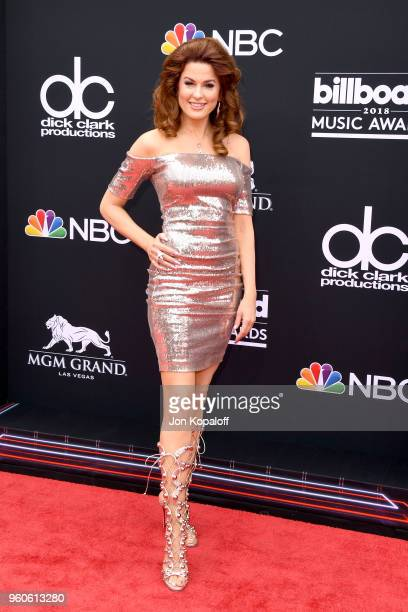 Recording artist Hilary Roberts attends the 2018 Billboard Music Awards at MGM Grand Garden Arena on May 20 2018 in Las Vegas Nevada