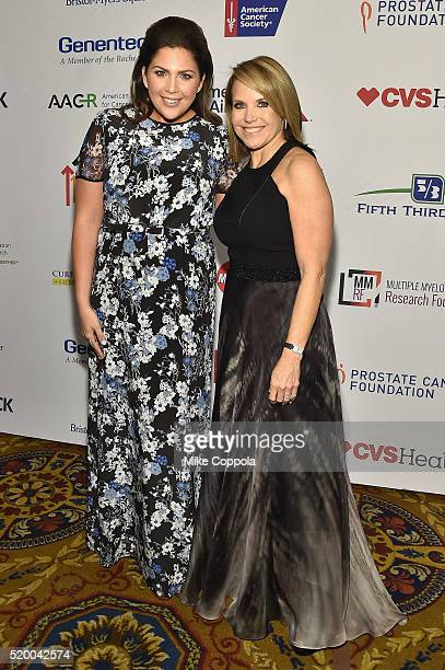 Recording artist Hillary Scott and Cofounder SU2C Council of Founders and Advisors Katie Couric attend Stand Up To Cancer's New York Standing Room...