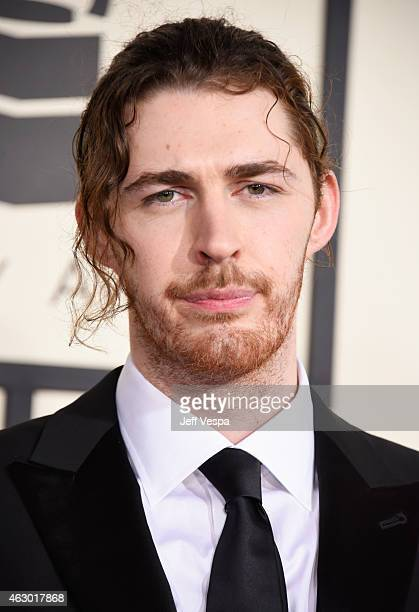 Recording artist Hozier attends The 57th Annual GRAMMY Awards at the STAPLES Center on February 8 2015 in Los Angeles California